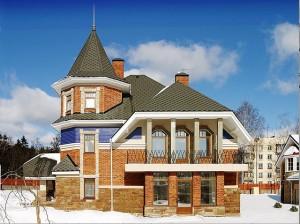 кирпичный дом