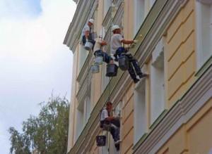 Ремонт фасадов в Екатеринбурге