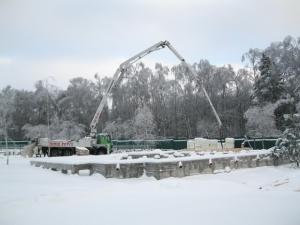 Особенности проведения земляных работ зимой