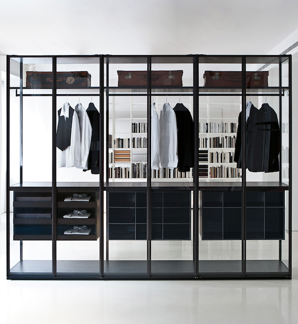Тренд: прозрачные шкафы